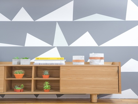 Graphic Wall Paint: The newest trend in interior painting ideas