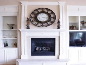 Fireplace Mantel Painting