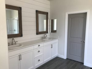 Bathroom Cabinet Refinishing